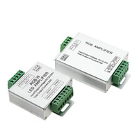 Edison2011 LED RGBW / RGB Усилитель DC12 - 24V 24A 4-канальный выход RGBW / RGB Светодиодная полоска Power Repeater Consuler Controller