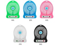 Mini Folding Portable Fan Cartoon Cat USB Rechargeable Folda...