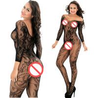 Sexy Lingerie delle donne Tuta Caldo Bodystocking Calze a rete Costumi sexy Intimo Prodotti del sesso Gridatura Lingerie erotica Sex Toys