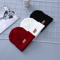 Autumn And Winter Hats New Korean Fashion Digital Wool Caps ...
