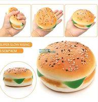 Высокое качество 10 см мягкий медленный рост слон гамбургер хлеб Каваи милый телефон ремешок кулон мягкий торт булочка душистые забавные детские игрушки