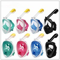 8 Style Summer Underwater Diving Mask Snorkel Set Swimming T...