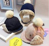 çocuk çocuklar kaput homme kış Şapkalar Beanies tasarımcı şapka markası açık moda sevimli kız erkek Şapkalar için 2020 yeni avcı şapkaları