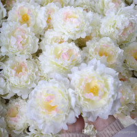 DIY Artificial Flowers Silk Peony Flower Heads Party Wedding...
