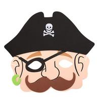 Abóbora pirata fantasma crânio Partido Halloween EVA Foam Animal Máscaras para Crianças Favores Do Aniversário Vestir Traje Do Jardim Zoológico Selva Fontes Do Partido