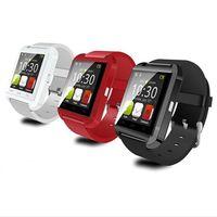 بلوتوث U8 Smartwatch ساعات المعصم شاشة تعمل باللمس لفون 7 سامسونج S8 الروبوت الهاتف النوم مراقب الذكية ووتش مع حزمة البيع بالتجزئة