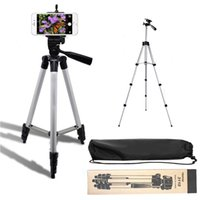 3110A liga de alumínio tripé Protable telefone celular Camera clipe de vara Filmadora selfie para iphone Samsung Nikon Sony Camra DV