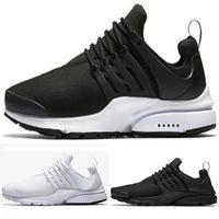 c89b282e7e66 nike air presto Оптовые 2018 Presto кроссовки Мужчины тройной черный белый  Ultra Breathe BR Jogging Sneakers