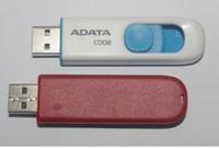 HOT 판매 ADATA C008 32GB 64GB 128GB 256GB USB 2.0 플래시 메모리 펜 드라이브 스틱 Pendrives Thumbdrive 무료 배송