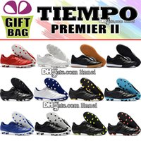 2018 Retro Tiempo Soccer Cleats Low Soccer Shoes Mens Tiempo...