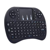 Mini I8 Teclado inalámbrico 2.4G Touchpad de control remoto del ratón de aire de Air para Smart Android TV Tablet Tablet PC