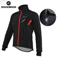 New Arrival. Wholesale Fleece Thermal Men Cycling Jacket Winter Warm Up Bicycle  Clothing Windproof Waterproof Windbreaker Coat MTB Bike Jersey 718e14a8f