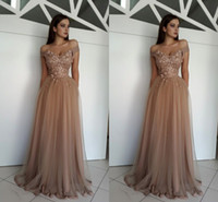 2018 Elegant Off The Shoulder Evening Dresses Flowers Pearl ...