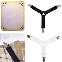 Clipes de folha de cama Triângulo Moda Multi Função Ajustável Antiderrapante Fivela Fivela Cortina de Roupa Clipe 8 8jn ff