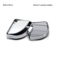 2Pcs Auto Car Adjustable Side Blind Mirror Rearview Blind Sp...