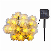 50led solar hair ball lamp four- color Christmas day decorati...