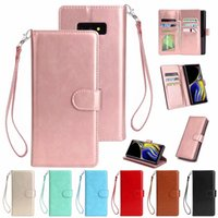 Bright Leather Phone Case for Samsung Galaxy Note 9 8 S6 S7 ...