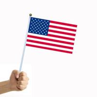 Bandierina americana del motociclo della bandiera americana del motociclo della bandiera americana dell'interno dell'interno di celebrazione di festival della bandiera