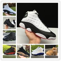 Wholesale 13 XIII bred black cat he got game Men Basketball ...