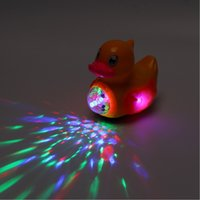 Duck Battery Operated Toy Figure Action Toy with Flashing Li...
