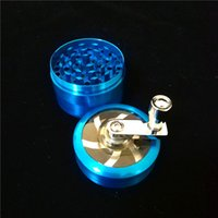 Tobacco Herb Grinders 53mm 4 Layers Zicn Alloy Hand Crank To...