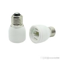 E27 to G24 소켓베이스 LED 할로겐 CFL 전구 램프 어댑터 변환기 고품질 내화 물질