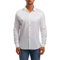 G.S Camisa de hombre para hombre Camisas casuales de negocios 2018 Recién  llegado de fbf738af6db