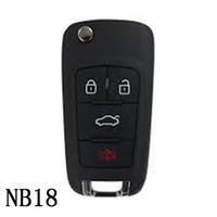 Ключ серии NB18 KEYDIY NB многофункциональный дистанционный для KD300 и KD900 для того чтобы произвести любой модельный remote
