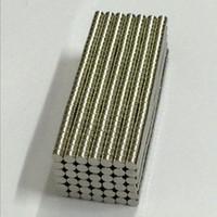 100 قطع 3 ملليمتر × 2 ملليمتر N50 المواد المغناطيسية النيوديميوم المغناطيس مصغرة قرص جولة صغيرة