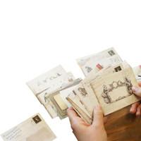 FangNymph новые продажи 12 шт. / лот 12 дизайн мини милый Ancien бумаги конверт ретро винтаж европейский стиль для скрапбукинга карты подарок