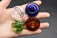 alta qualità 35mm OD UFO colorato Carb Caps per quarzo Banger termico Chiodi Dabber vetro Dab Smoking Acessoires