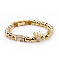 Braccialetto da uomo Bracciale in acciaio inox perline in acciaio inox gioielli Charms Bracciali per le donne Pulseira Gioielli regalo San Valentino vacanze natale