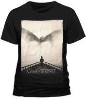 Cotton Shirts Game Of Thrones - Tyrion Lannister DRAGON Silh...