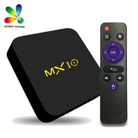Novo MX10 4 GB 32 GB CAIXA de TV Android 9.0 RK3328 Quad Core Inteligente BOX Suporte 4 K H.265 WIFI HDMI