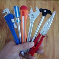 Qone Nuevo Llega Lindo Kawaii Toolbox Tool Bolígrafos Bolígrafos Para Oficina Escuela Suministros de Escritura Papelería