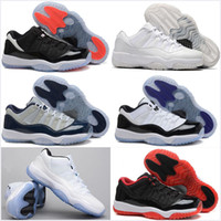 Wholesale Basketball Shoes 11 Xi Low Bred Low Georgetown Spo...
