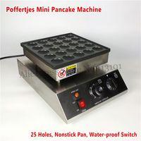 Dutch Poffertjes Machine Mini Pancake Grill 950W 25 trous Surface de cuisson antiadhésive CE Brand New Livraison gratuite