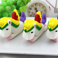 Kawaii Toys Unicorn Jumbo Slow Rising Squishy Toy Scented So...