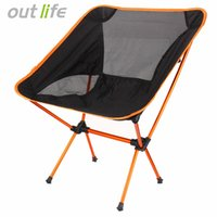 Outlife Ultra Light Folding Fishing Chair Seat For Outdoor C...
