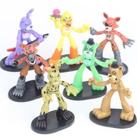 7 Pcs Set Five Nights At Freddys 3 Freddy toys 8cm Bonnie Fo...