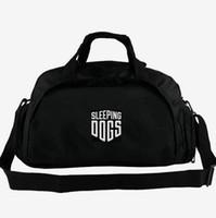 Schlafende Hunde Seesack Wei Shen Spieler Tote 2 Weg Gebrauch Rucksack Spiel Gepäck Reise Schulter Duffle Sport Sling Pack