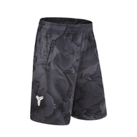 2018 Basketballs Short Brand de verano KB Kobe Bryant Hot Baggy Bermuda Male Loose Runs Shorts de hombre Active Plus Size