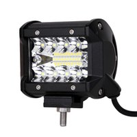 """ECAHAYAKU 1 Stücke 4 """"zoll 60 Watt Spot LED lichtleiste Fahren Nebelscheinwerfer lampe Led Arbeitslicht für Geländewagen SUV Jeep 4WD Auto-styling"""