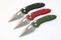 Top Quality MT Stitch Auto Tactical Folding Knife D2 Stone W...