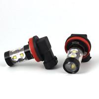 자동 LED 안개등 화이트 안개 램프 50W PSX24W H11 H8 H3 H16 880 881 9005 HB3 Chevrolet Cruze 용 Captiva Lacetti aveo spark niva