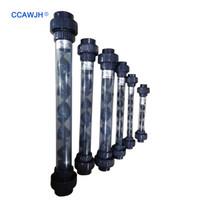 Nouveau! UPVC 1/2 3/4 1 1.25 1.5 2 Mélangeur statique d'ozone intégré, Équipement de mélange d'ozone avec système de ventilation en PVDF en option