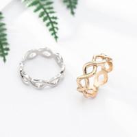 Silver Plated Infinite Shine Original Pan Ring para las mujeres cumpleaños boda encanto regalo DIY joyería R009