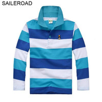 Saileroad 3 - 15year Juvenile Big Kids Boys Polo Shirts Cotto...
