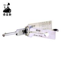 Bay Li'nin Orijinal Lishi HU49 2in1 Dekoder ve Pick - Piyasadaki En İyi Otomotiv Kilitleri Araçları Kilidini