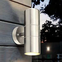 Stainless Steel garden light Up Down Wall Light GU10 IP65 Do...
